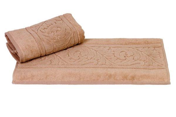 купить Махровое полотенце Sultan коричневое Турция (IZ-8693675950347-v)