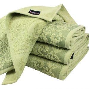 Махровое полотенце Supreme зеленое