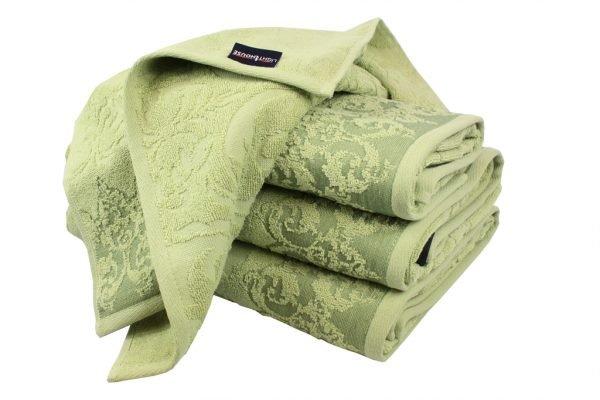 купить Махровое полотенце Supreme зеленое Турция (IZ-2200000037763-v)