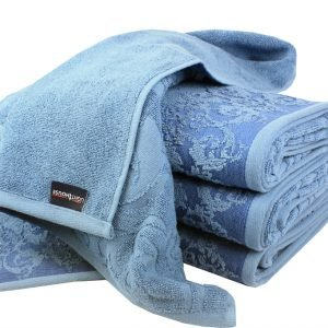 Махровое полотенце Supreme синее
