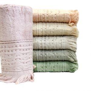 Набор бамбуковых полотенец 6 шт. S. Bamboo Alacati