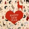 купить Набор кухонных полотенец  New Year V3 40x60 (2 шт)см Турция (IZ-8698499320857) 46668