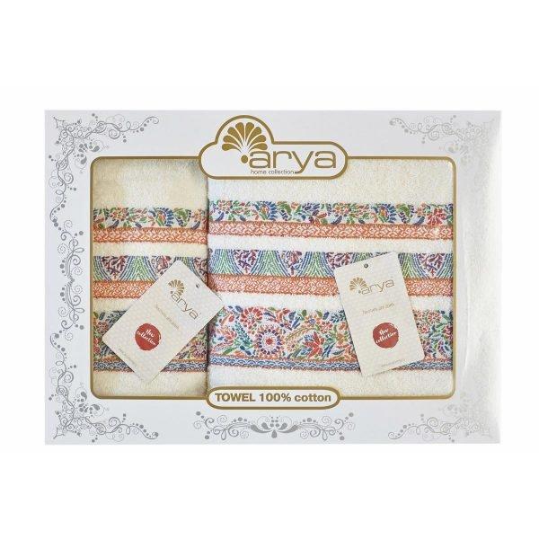 купить Набор полотенец ТМ Arya 50x90-70x140 2 шт. Dove Турция (TRK111000021765)