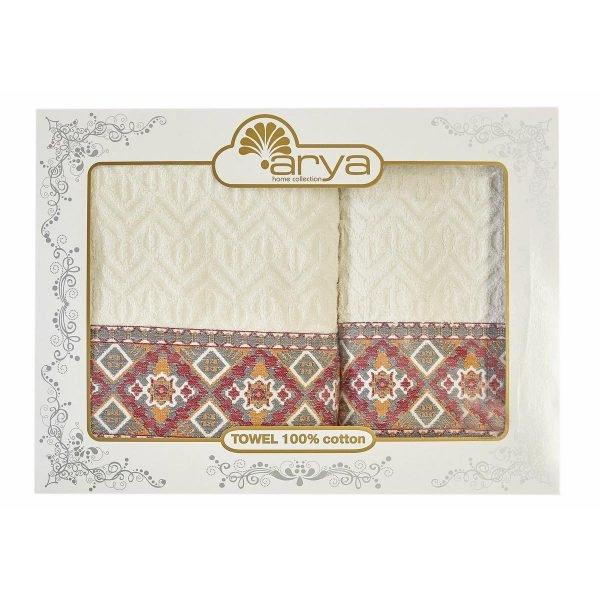 купить Набор полотенец ТМ Arya 50x90-70x140 2 шт. Etnic Турция (TRK111000021764)