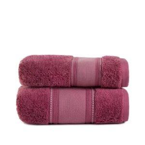Полотенце махровое ТМ Arya Trey розовое