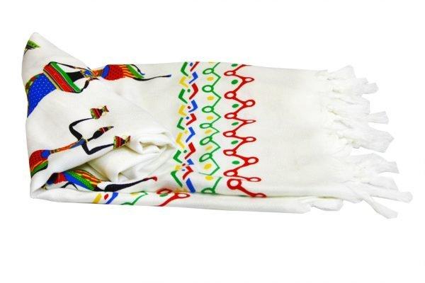 купить Пляжное полотенце Bamboo Peshtemal Africa 90x180см Турция (IZ-2200000547903)