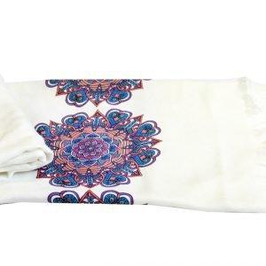 Пляжное полотенце Bamboo Peshtemal Ornament 90×180см