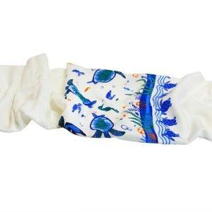 Пляжное полотенце Bamboo Peshtemal Turtle Island 90×180см