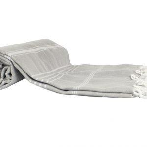 Пляжное полотенце Cross Peshtemal №3/4/61 95×175см серое