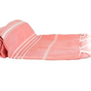 Пляжное полотенце Cross Peshtemal №69 95×175см розовое