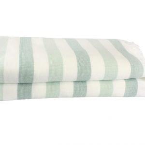 Пляжное полотенце STRIPE 70×140см голубое