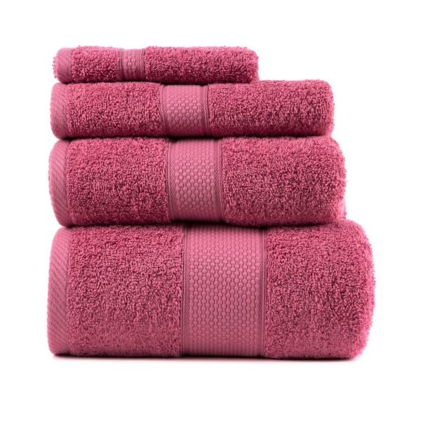 купить Полотенце ТМ Arya Однотонное Miranda Soft Розовый 2 Турция (TR1002479-2)