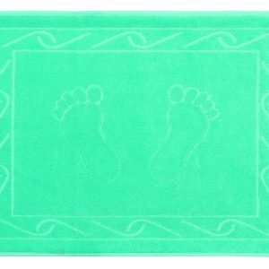 купить Полотенце для ног Hayal 50x70см бирюзовое Турция (IZ-2200000027931)