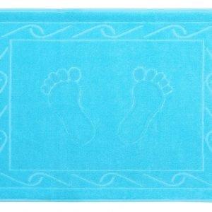 Полотенце для ног Hayal 50×70см голубое