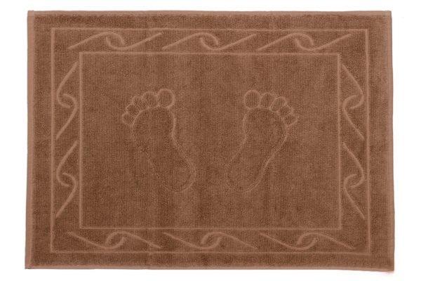 купить Полотенце для ног Hayal 50x70см коричневое 2 Турция (IZ-8693675951764)