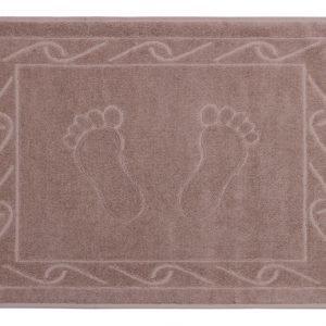 купить Полотенце для ног Hayal 50x70см коричневое Турция (IZ-8693675947620)