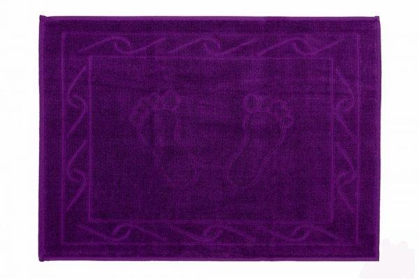 купить Полотенце для ног Hayal 50x70см фиолетовое Турция (IZ-8698499301603)