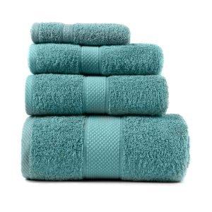 купить Полотенце махровое ТМ Arya Однотонное Miranda Soft Голубое Турция (TR1002480-6-v)