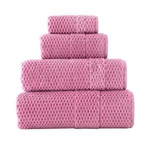 Полотенце махровое ТМ Arya Arno розовое