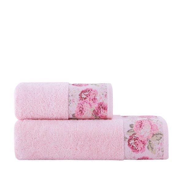 купить Полотенце махровое ТМ Arya Desima Розовое Турция (TR1002517-3-v)