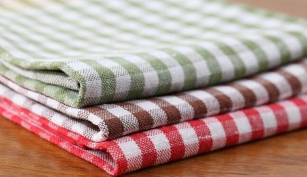 Как стирать кухонные полотенца?