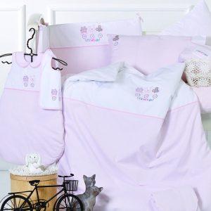 Детский набор в ванную для младенцев Karaca Home – Cats с апликацией 30×50