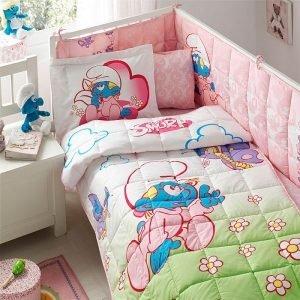 Детский набор в кроватку для младенцев TAC Disney – Sirinler Baby Girl 100×150
