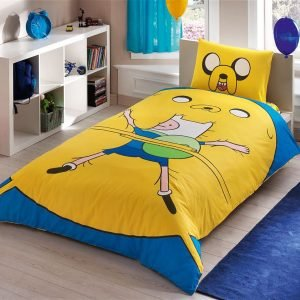 Детское подростковое постельное белье ТМ TAC Disney Adventure Time 160×220