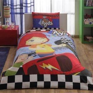 Детское подростковое постельное белье ТМ TAC Disney Ayas Race 160×220