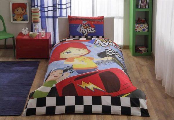 купить Детское подростковое постельное белье ТМ TAC Disney Ayas Race Детское