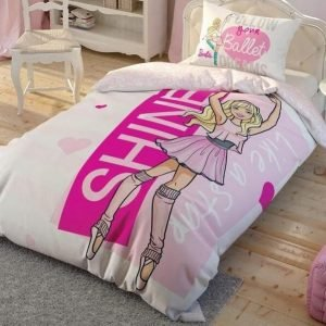 купить Детское подростковое постельное белье ТМ TAC Disney Barbie Ballet Детское