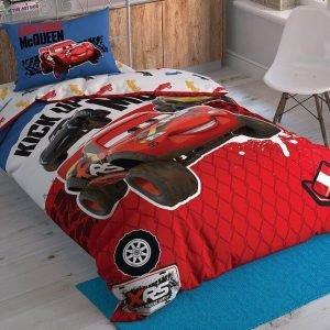 Детское подростковое постельное белье ТМ TAC Disney Cars Adventure 160×220