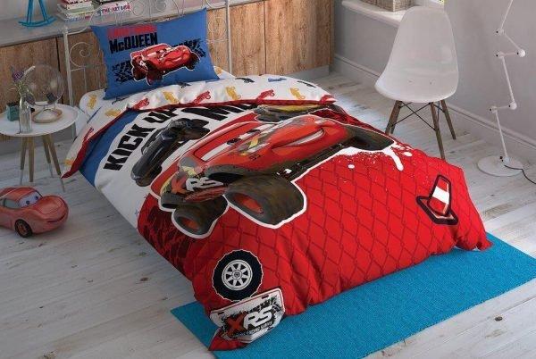 купить Детское подростковое постельное белье ТМ TAC Disney Cars Adventure Детское