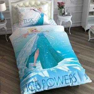 Детское подростковое постельное белье ТМ TAC Disney Frozen Ice Powers 160×220
