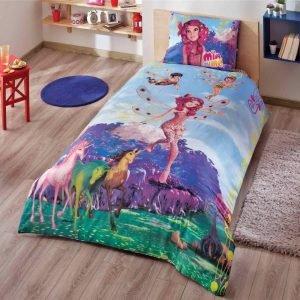 Детское подростковое постельное белье ТМ TAC Disney Mia And Me Fairy 160×220