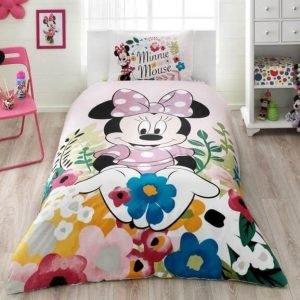 Детское подростковое постельное белье ТМ TAC Disney Minnie Glitter 160×220