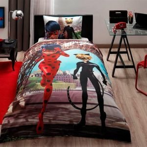 Детское подростковое постельное белье ТМ TAC Disney Miraculous 160×220