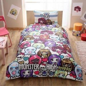 Детское подростковое постельное белье ТМ TAC Disney Monster High Minis 160×220