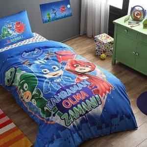 Детское подростковое постельное белье ТМ TAC Disney PJ Masks 160×220