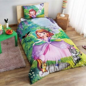 Детское подростковое постельное белье ТМ TAC Disney Sofia The First 160×220