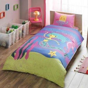 Детское подростковое постельное белье ТМ TAC Hallmark Mermaid 2 160×220