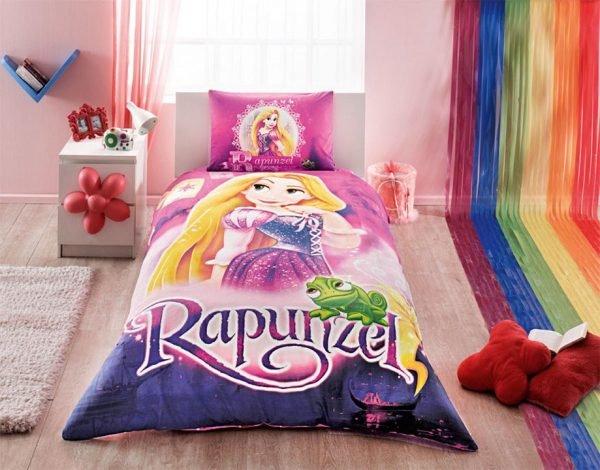 Детское подростковое постельное белье ТМ TAC Rapunzel 160×220