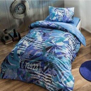 Детское подростковое постельное белье ТМ TAC Teen Graffiti Paint 160×220