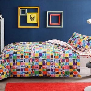 купить Детское подростковое постельное белье ТМ TAC Teen Graffiti Square Детское