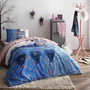 Детское подростковое постельное белье ТМ TAC Teen Lacy 160×220