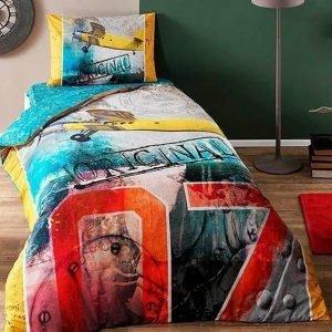 Детское подростковое постельное белье ТМ TAC Teen Plane 160×220