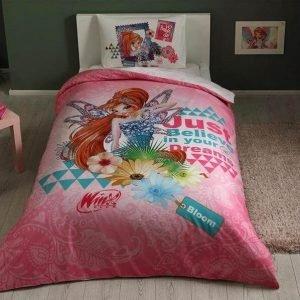 Детское подростковое постельное белье ТМ TAC Winx Bloom Fairytale 160×220