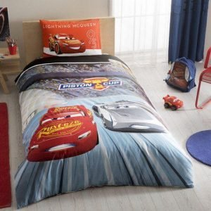 Детское подростковое постельное белье TAC Disney Cars 3 160×220
