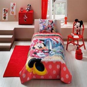 Детское покрывало ТМ TAC Disney Minnie Tea Time 160×220