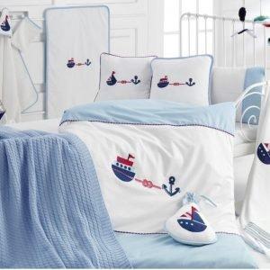 Детское постельное белье в кроватку для младенцев Irya — Marine (16 предметов) 100×150